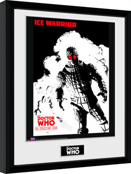 Doctor Who - Spacetime Tour Ice Warrior Kehystetty juliste