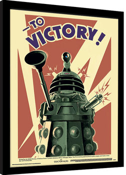 Doctor Who - Victory Kehystetty juliste