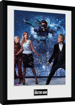 Doctor Who - Xmas Iconic 2016 Kehystetty juliste