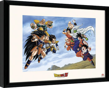 Kehystetty juliste Dragon Ball - Battle Of Saiyans