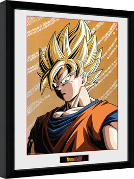 Kehystetty juliste Dragon Ball Z - Goku