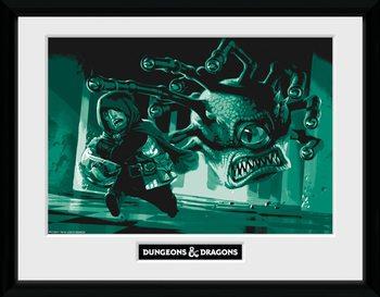 Dungeons & Dragons - Beholder Kehystetty juliste