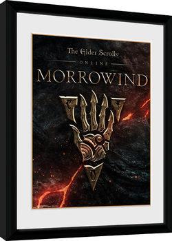Elder Scrolls Online Morrowind - Logo Kehystetty juliste