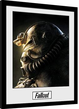 Kehystetty juliste Fallout 76 - T51b