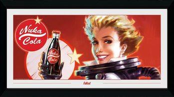 Fallout - Nuka Ad Kehystetty juliste