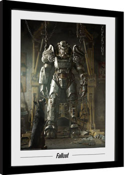Kehystetty juliste Fallout - Power Armour