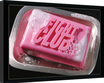 Fight Club - Soap Kehystetty juliste