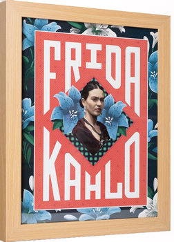 Kehystetty juliste Frida Kahlo