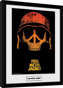 Full Metal Jacket - Skull Kehystetty juliste