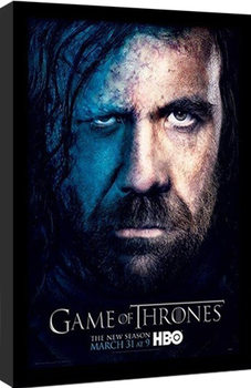GAME OF THRONES 3 - sandor Kehystetty juliste