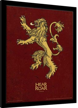 Game Of Thrones - Lannister Kehystetty juliste