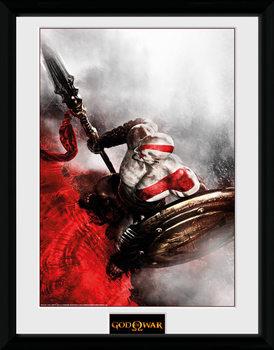 God of War - Kratos Sparta Wing kehystetty lasitettu juliste