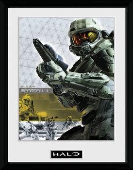 Halo 5 - Spartan kehystetty lasitettu juliste