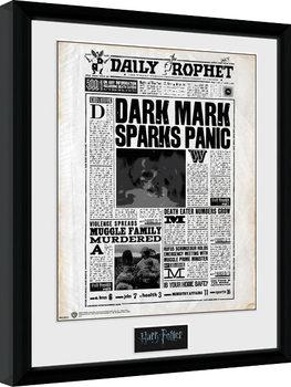 Harry Potter - Daily Prophet Kehystetty juliste