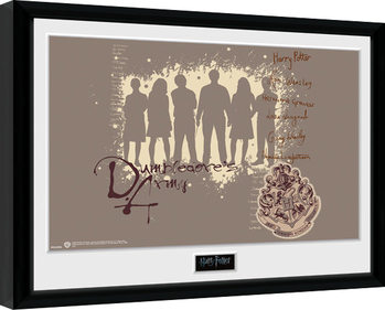 Kehystetty juliste Harry Potter - Dumbledore's Army