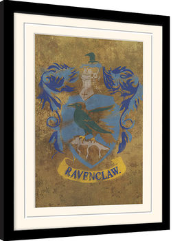 Harry Potter - Ravenclaw Crest Kehystetty juliste