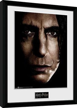 Kehystetty juliste Harry Potter - Snape Face