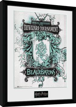 Harry Potter - Triwizard Beaux Batons Kehystetty juliste