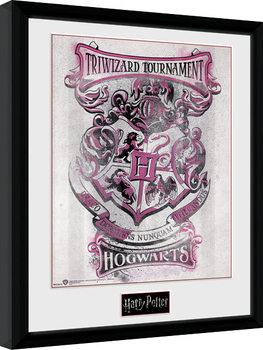 Harry Potter - Triwizard Hogwarts Kehystetty juliste
