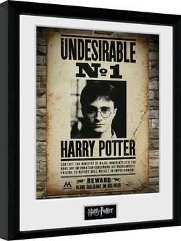 Kehystetty juliste Harry Potter - Undesirable No 1