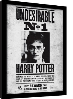 Harry Potter - Undesirable No1 Kehystetty juliste