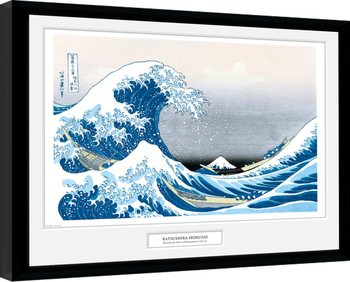 Kehystetty juliste Hokusai - Great Wave