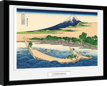 Kehystetty juliste Hokusai - Shore of Tago Bay
