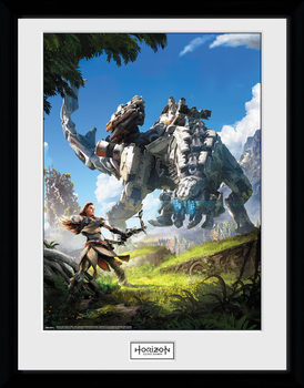 Horizon Zero Dawn - Key Art kehystetty lasitettu juliste
