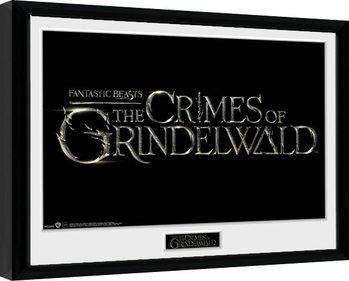 Ihmeotukset: Grindelwaldin rikokset - Logo Kehystetty juliste