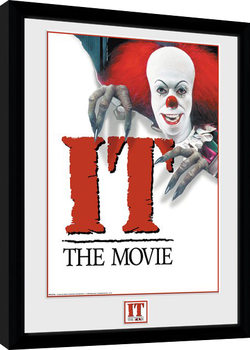 IT - 1990 Poster Kehystetty juliste