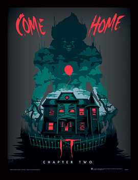 IT: Chapter Two - Come Home Kehystetty juliste