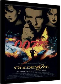 Kehystetty juliste JAMES BOND 007 - Goldeneye