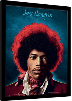 Kehystetty juliste Jimi Hendrix - Both Sides of the Sky