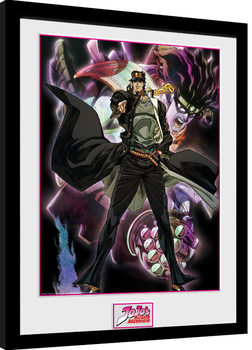 Jojo's Bizarre Adventures - Stardust Crusaders Kehystetty juliste