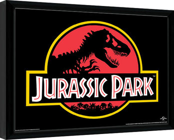 Jurassic Park - Classic Logo Kehystetty juliste