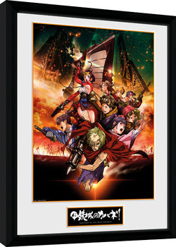 Kabaneri of the Iron Fortress - Collage Kehystetty juliste
