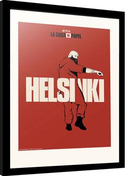 Kehystetty juliste La Casa De Papel - Helsinki