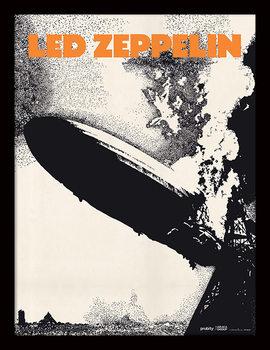 Led Zeppelin - Led Zeppelin I Kehystetty juliste