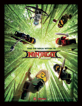 LEGO Ninjago Movie - Bamboo Kehystetty juliste