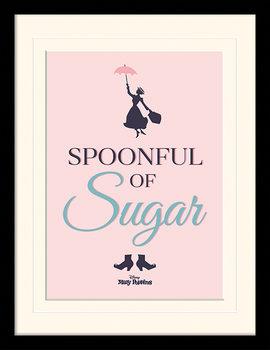 Maija Poppasen Paluu - Spoonful of Sugar Kehystetty juliste