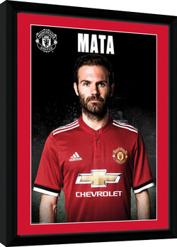 Manchester United - Mata Stand 17/18 Kehystetty juliste