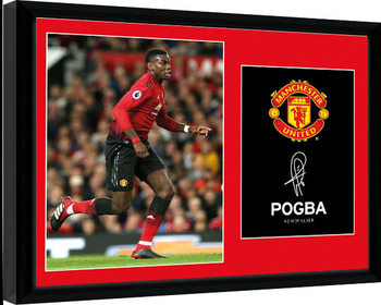Manchester United - Pogba 18-19 Kehystetty juliste