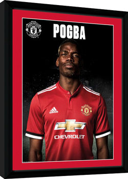 Manchester United - Pogba Stand 17/18 Kehystetty juliste