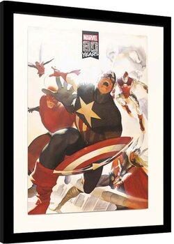Kehystetty juliste Marvel - 80 years Anniversary