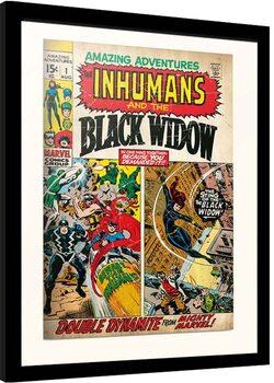 Kehystetty juliste Marvel - Amazing Adventures