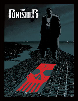 Marvel Extreme - Punisher Kehystetty juliste