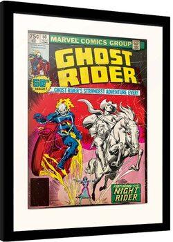 Kehystetty juliste Marvel - Ghost Riders