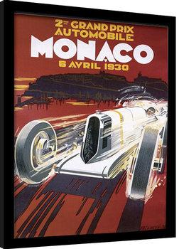 MONACO (1) Kehystetty juliste