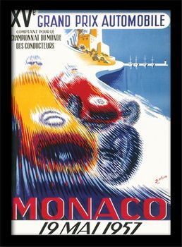 Monaco - 6 Kehystetty juliste