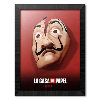 Kehystetty juliste Money Heist (La Casa De Papel)